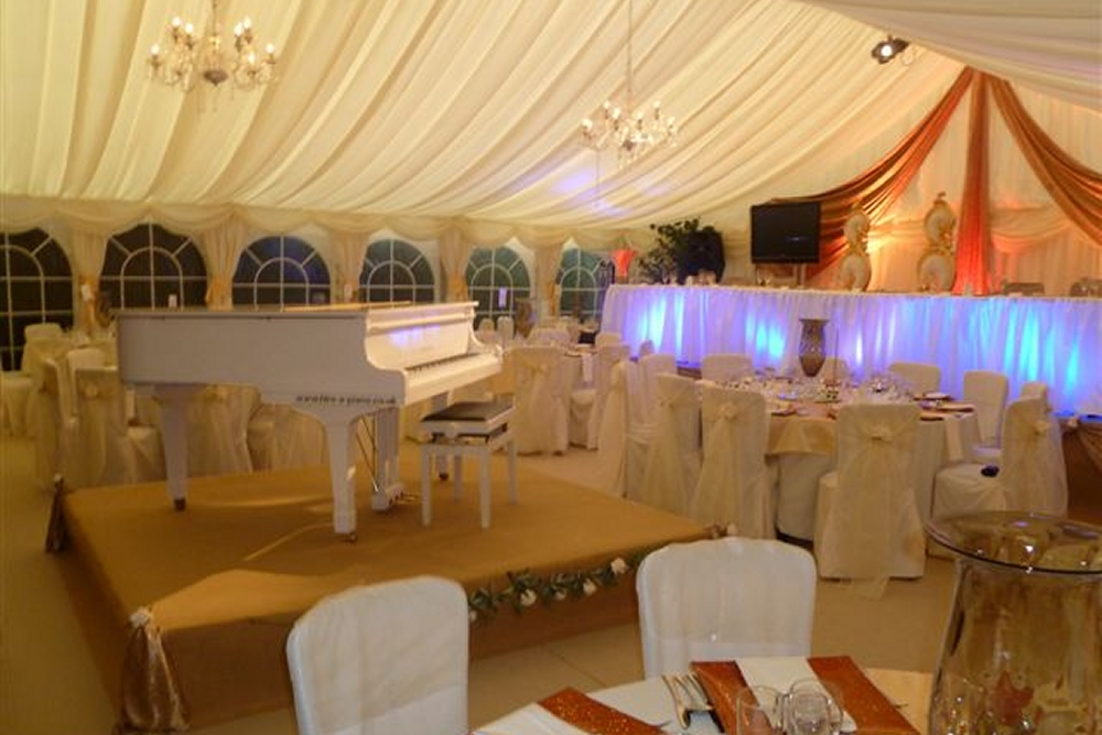 Piano Hire for weddings